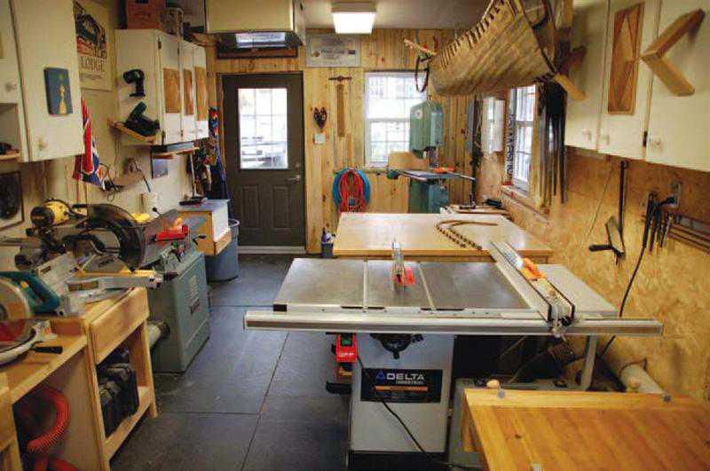 Setup a woodworking workshop