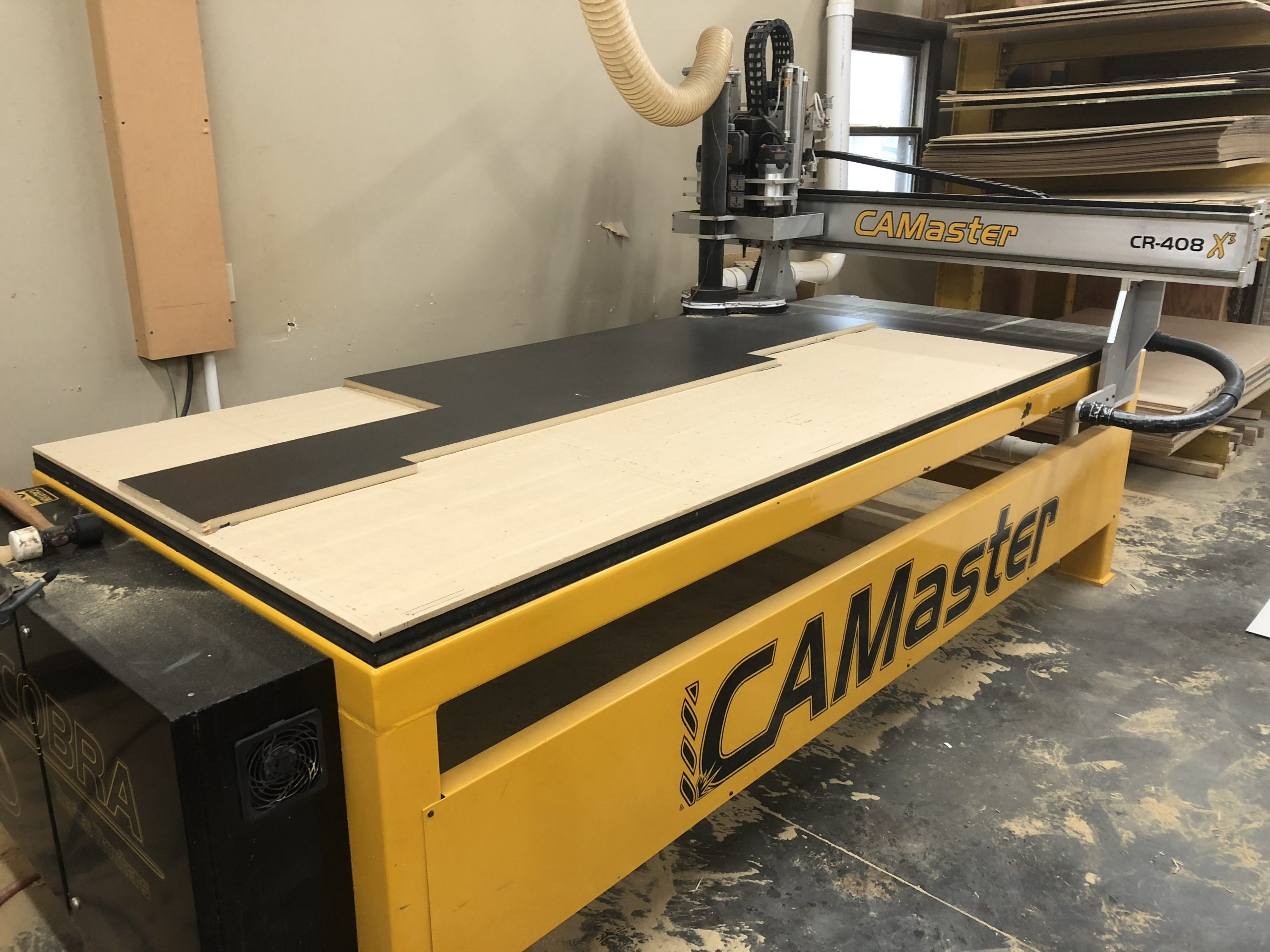 Cammaster 4x8 Cobra X3