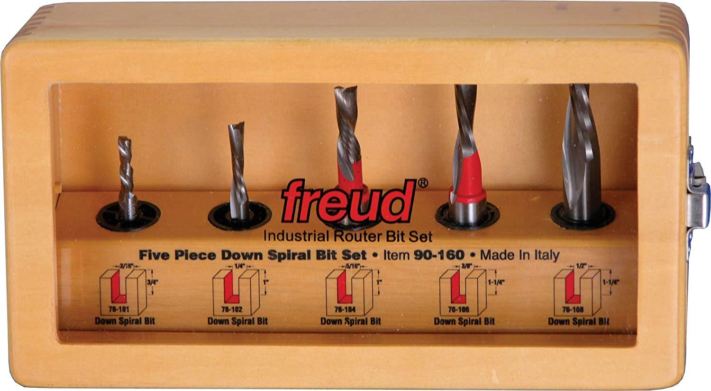 Freud 5 Piece Down Spiral