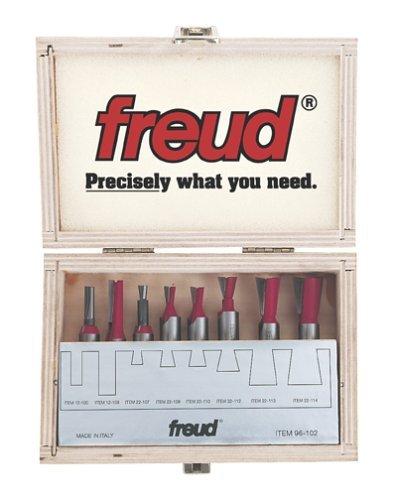 Freud 8 Piece Bit for Incra