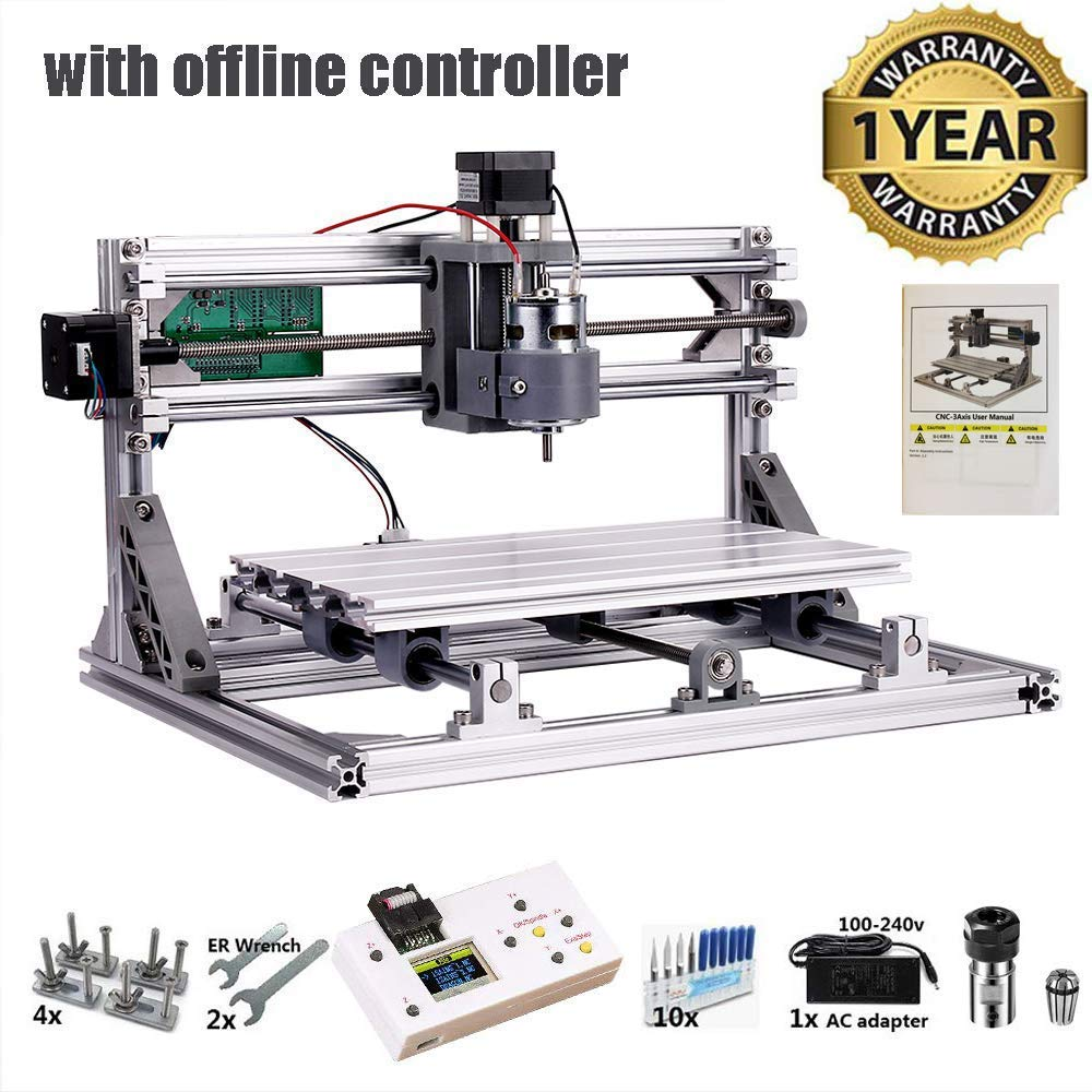 CNC 3018 Router Kit by NUOXINUS
