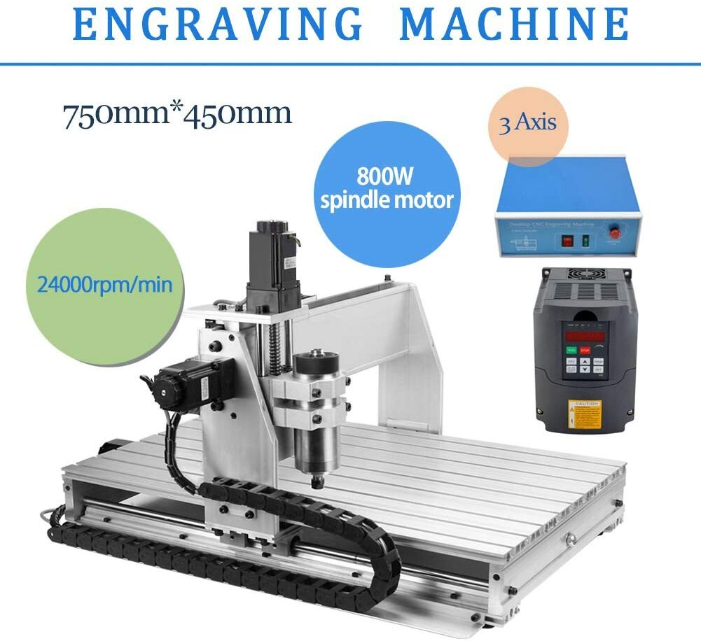 Taishi 3 AXIS 800W CNC Router