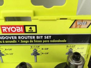 Ryobi Router Bit Review: How good is this Carbide Router Bit Set?