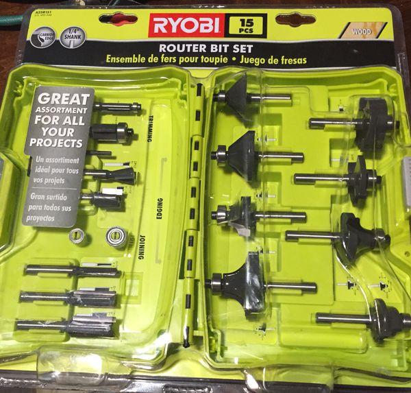 Ryobi Router Bit kit review