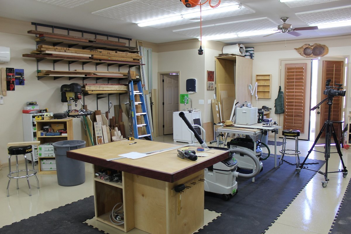 Size and layout of your workshop
