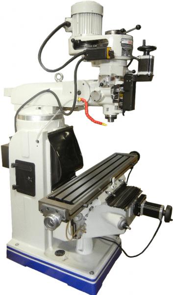 CNC Supra Vertical Knee Milling Machine