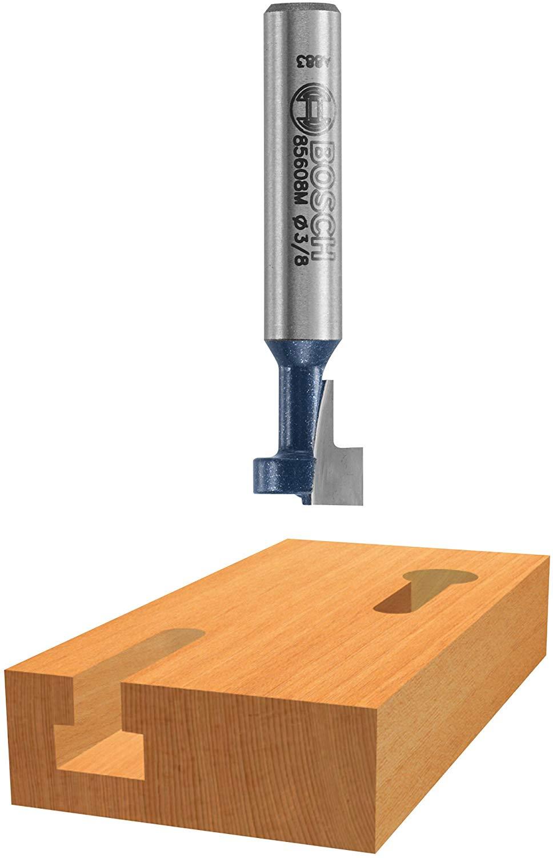 Bosch 85078 3/8 In. High-Speed Steel Carbide-Tipped Keyhole Bit