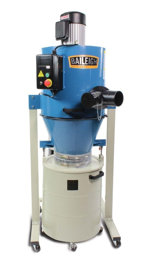 Baileigh Cyclone Style DC-1450C Dust Collector