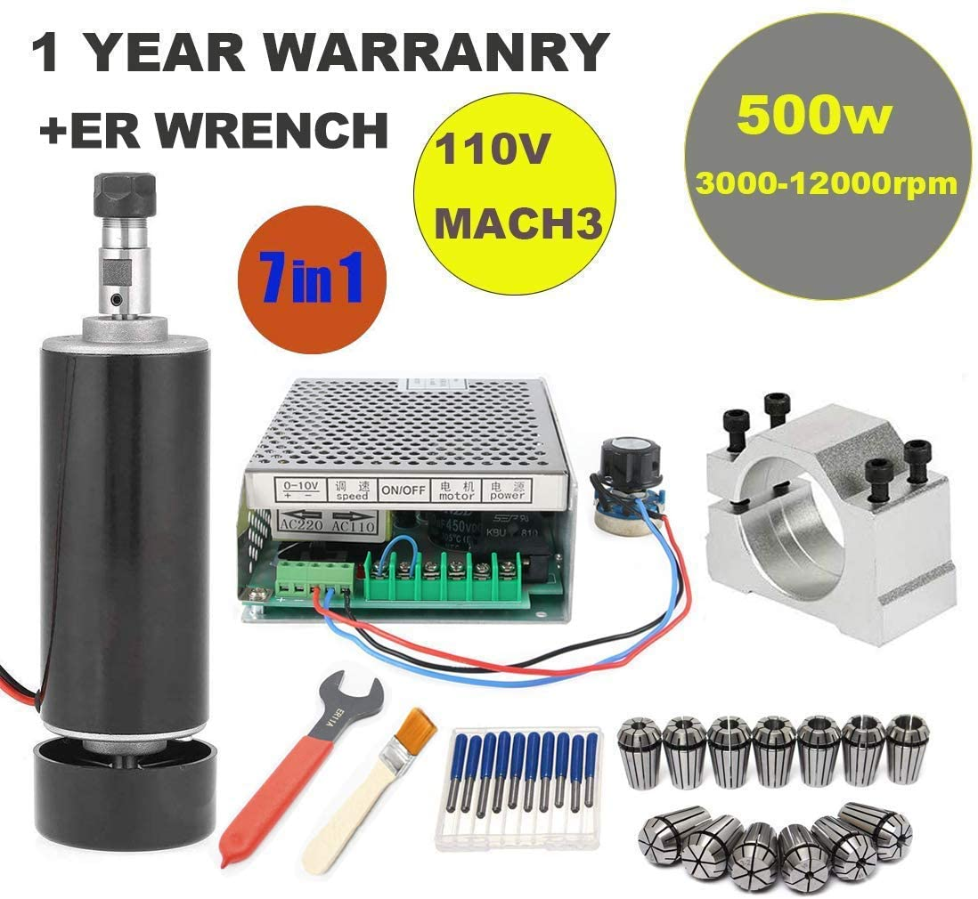 CNC Spindle Kit 500W
