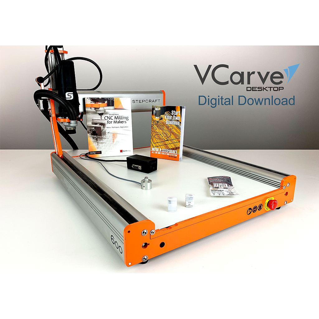 D.600 Mill & Carve CNC Package