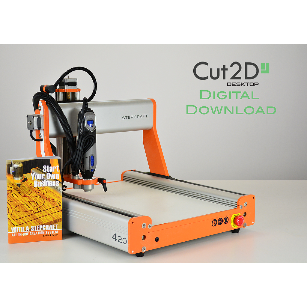 STEPCRAFT D.420 Starter Desktop CNC Package