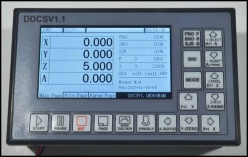 DDCSV1 4 axis CNC controller reviewed