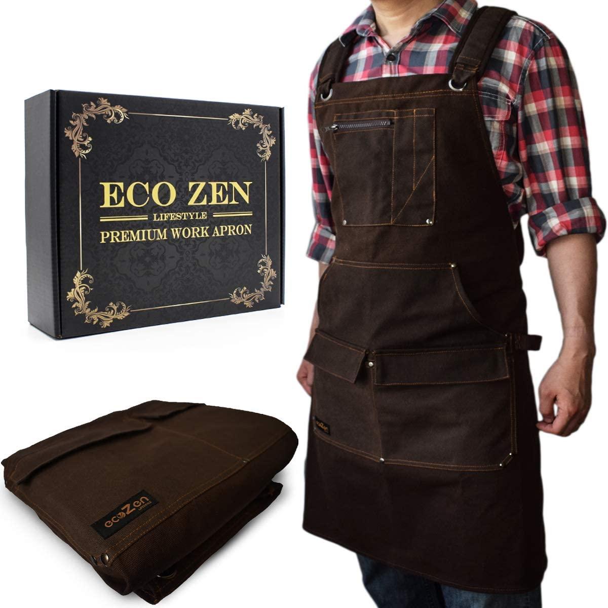 EcoZen Lifestyle Woodworking Shop Apron
