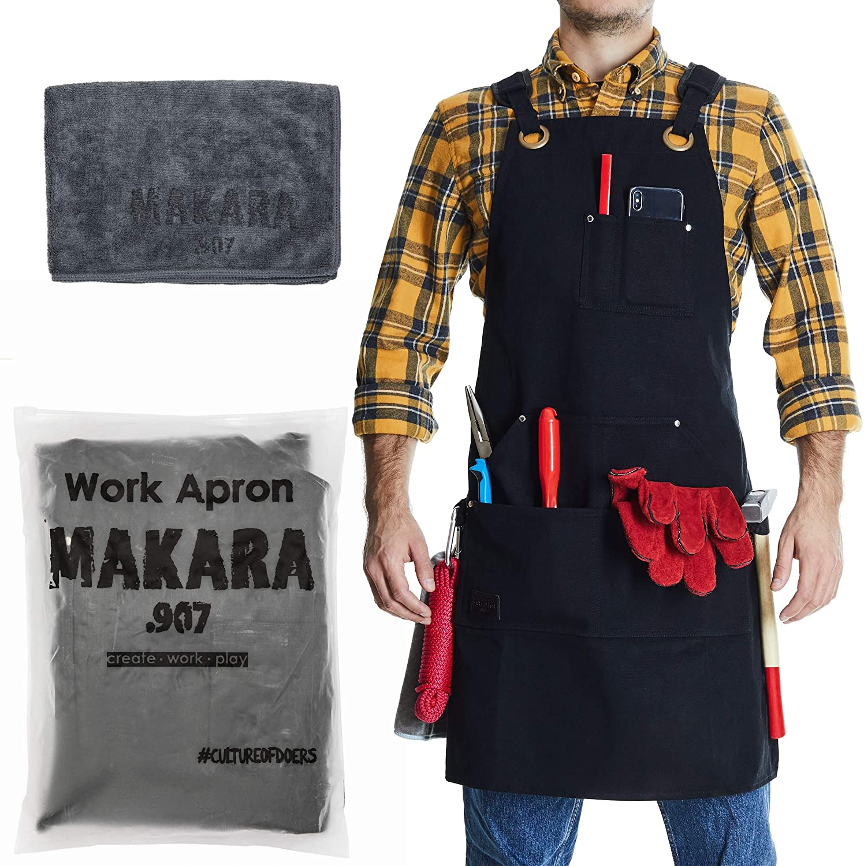 Makara 907 Waxed Canvas Apron