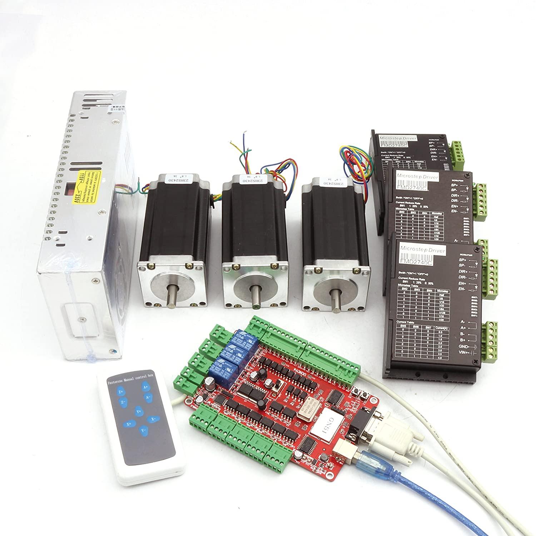 RATTMMOTOR 3 Axis CNC Kit Nema23