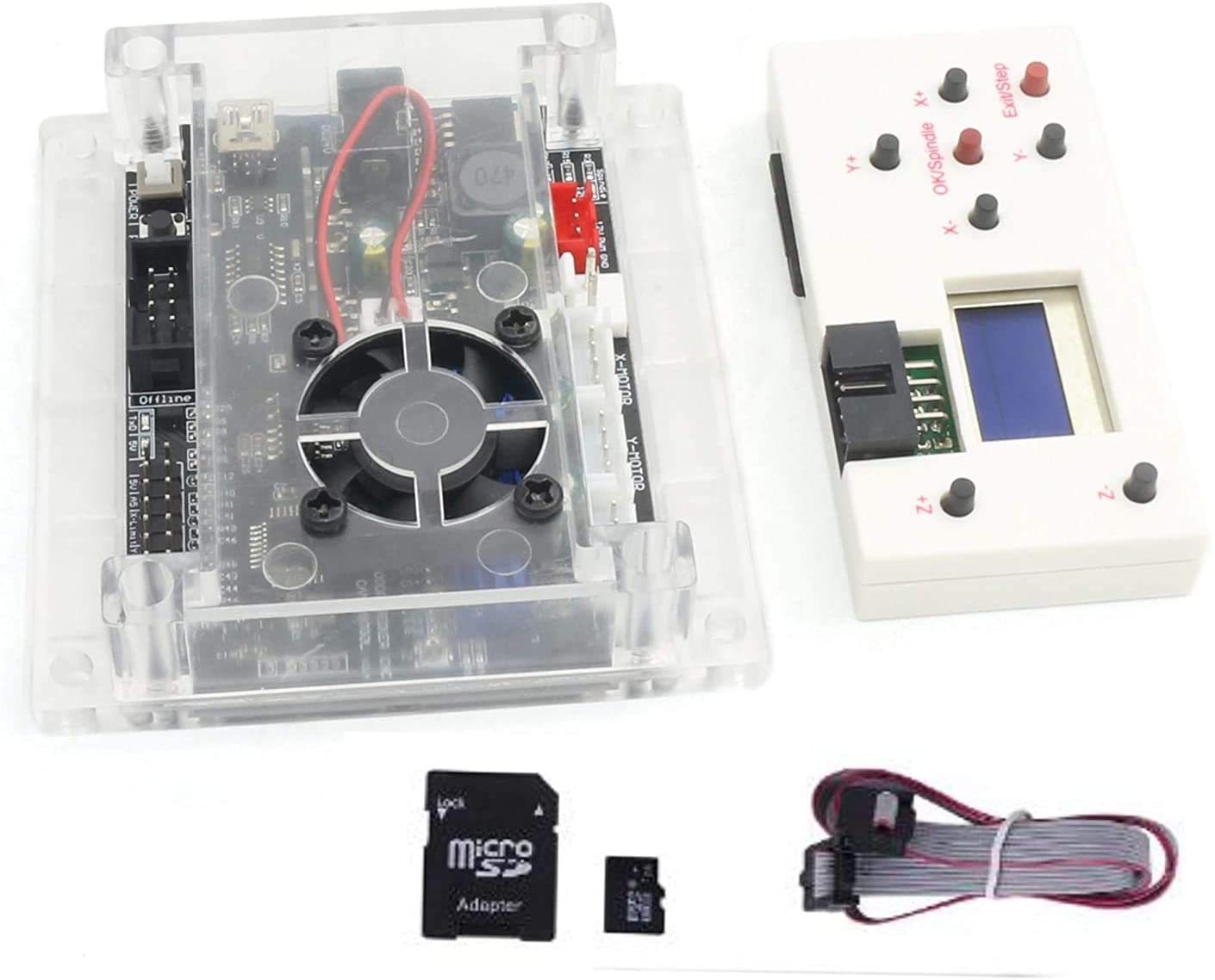 3 Axis 1.1f Laser Control Board USB GRBL Controller