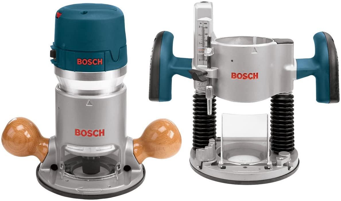 Bosch 1617EVSPK 2.25HP Plunge & Fixed-Base Router