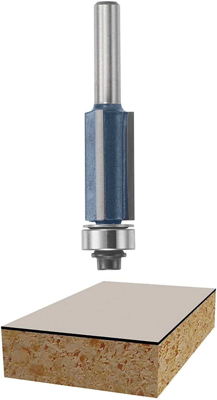 Bosch 85216M 1/2 In. x 1 In. Flute Flush Trim Bit