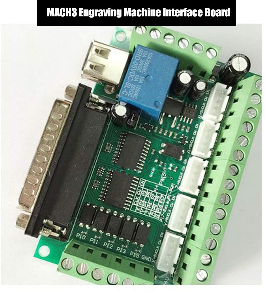 KOOBOOK 1Pcs 5 Axis CNC Controller