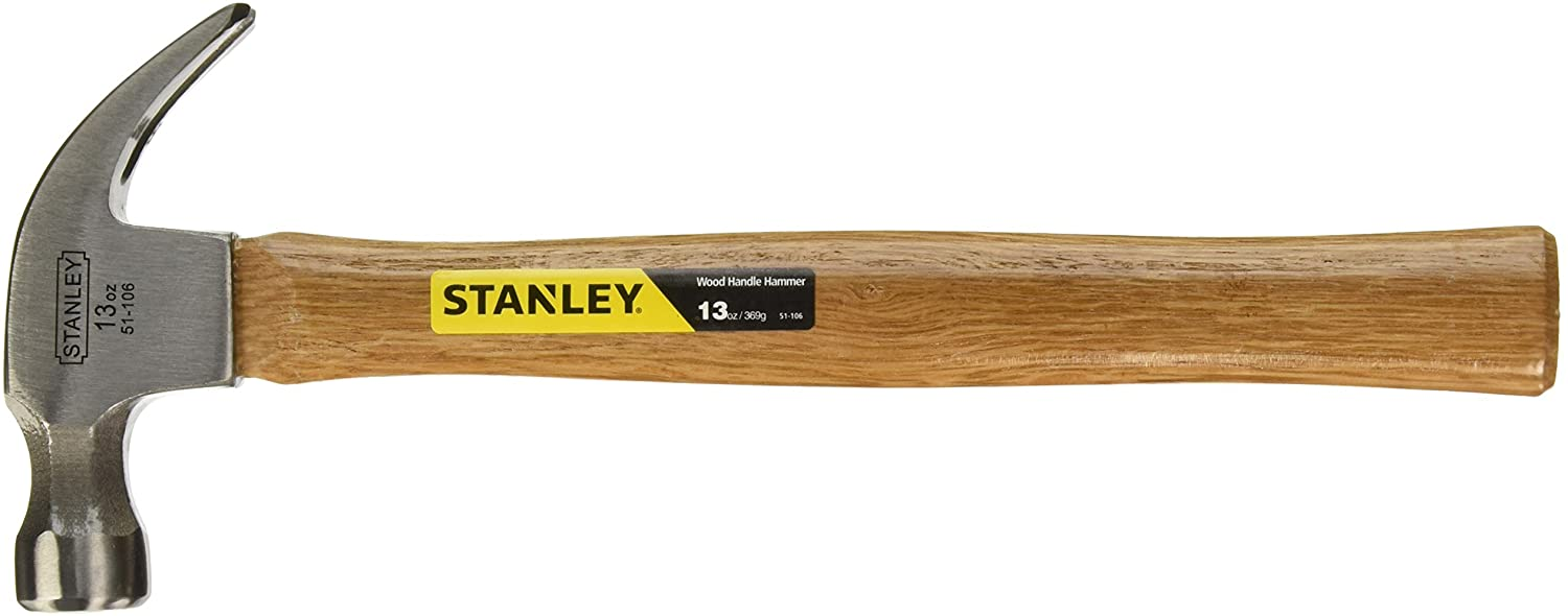 Stanley 51-106 13 Ounce Wood Hammer