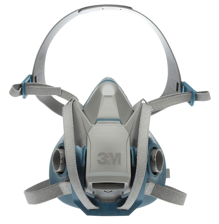 3M Rugged Comfort Quick Latch Half Facepiece Reusable Respirator