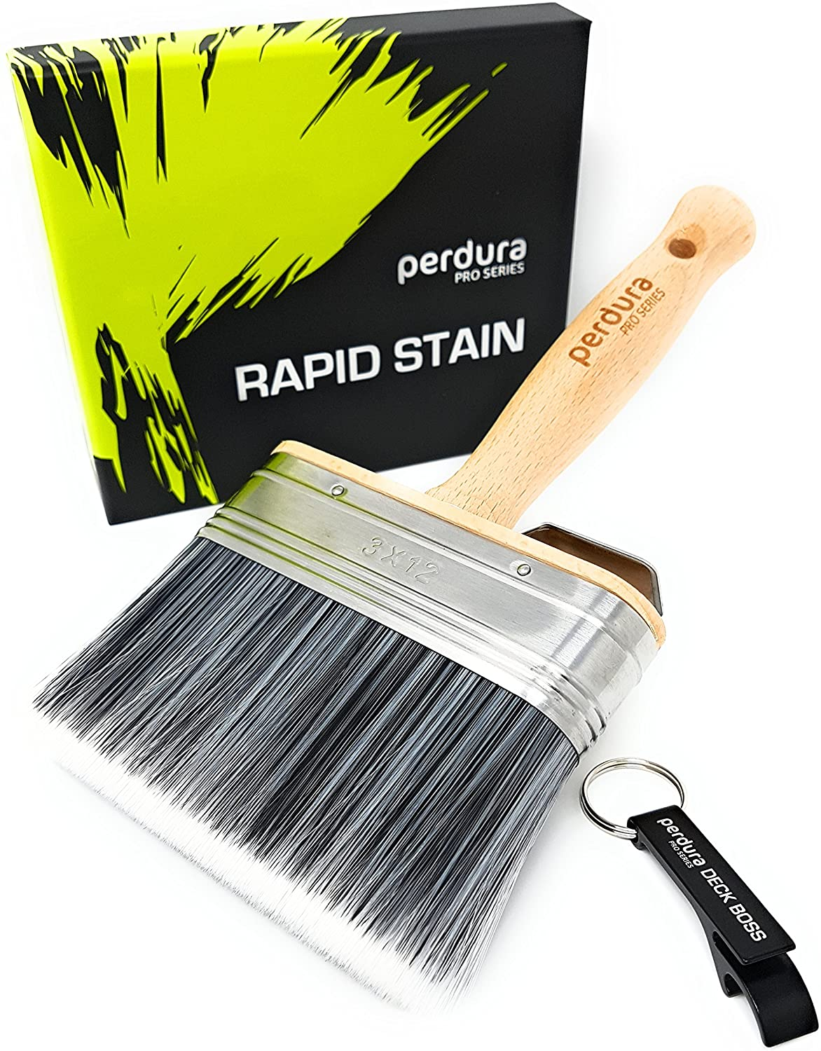 Deck Stain Brush Applicator - Rapid Stain by Perdura