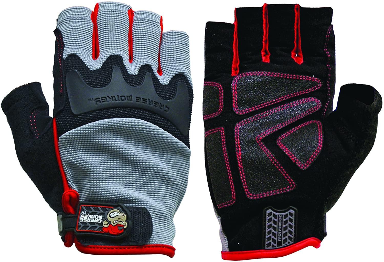 Grease Monkey Pro Fingerless Work Gloves