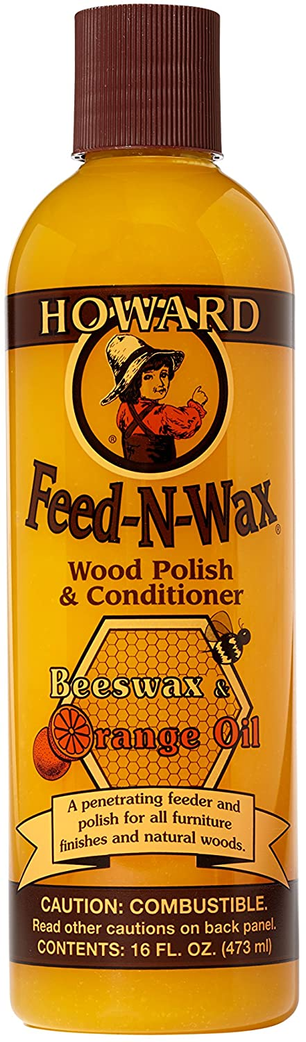 Howard FW0016 Feed-N-Wax Wood Cleaner