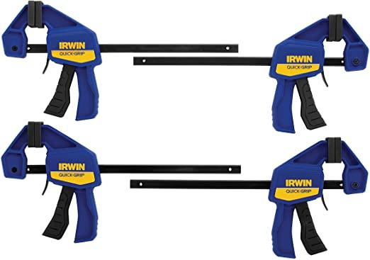 Irwin Quick-Grip G-clamps Minibar