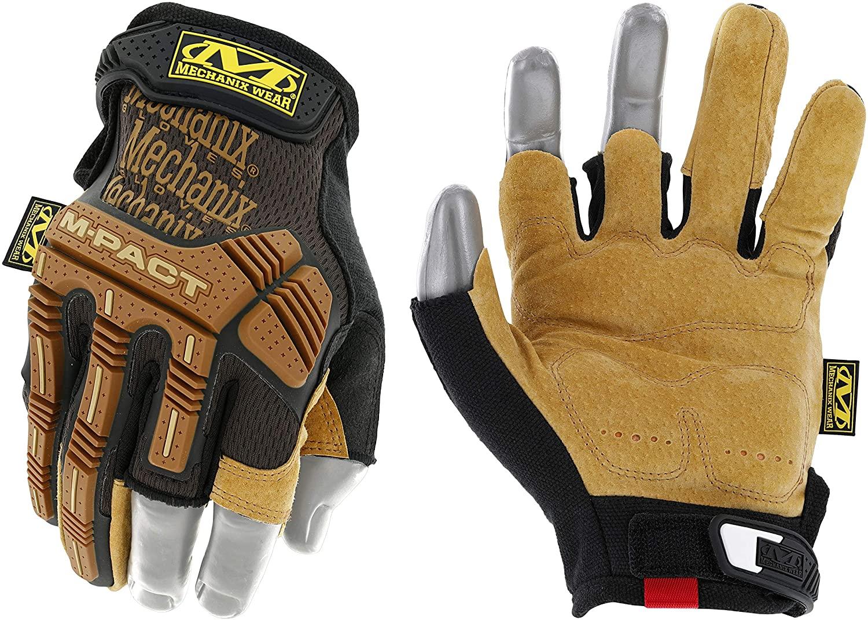 Mechanix Wear M-Pact Leather Work Gloves