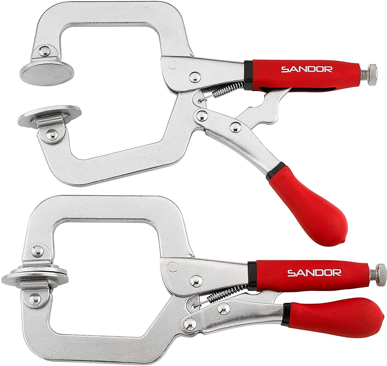 Sandor metal face clamp