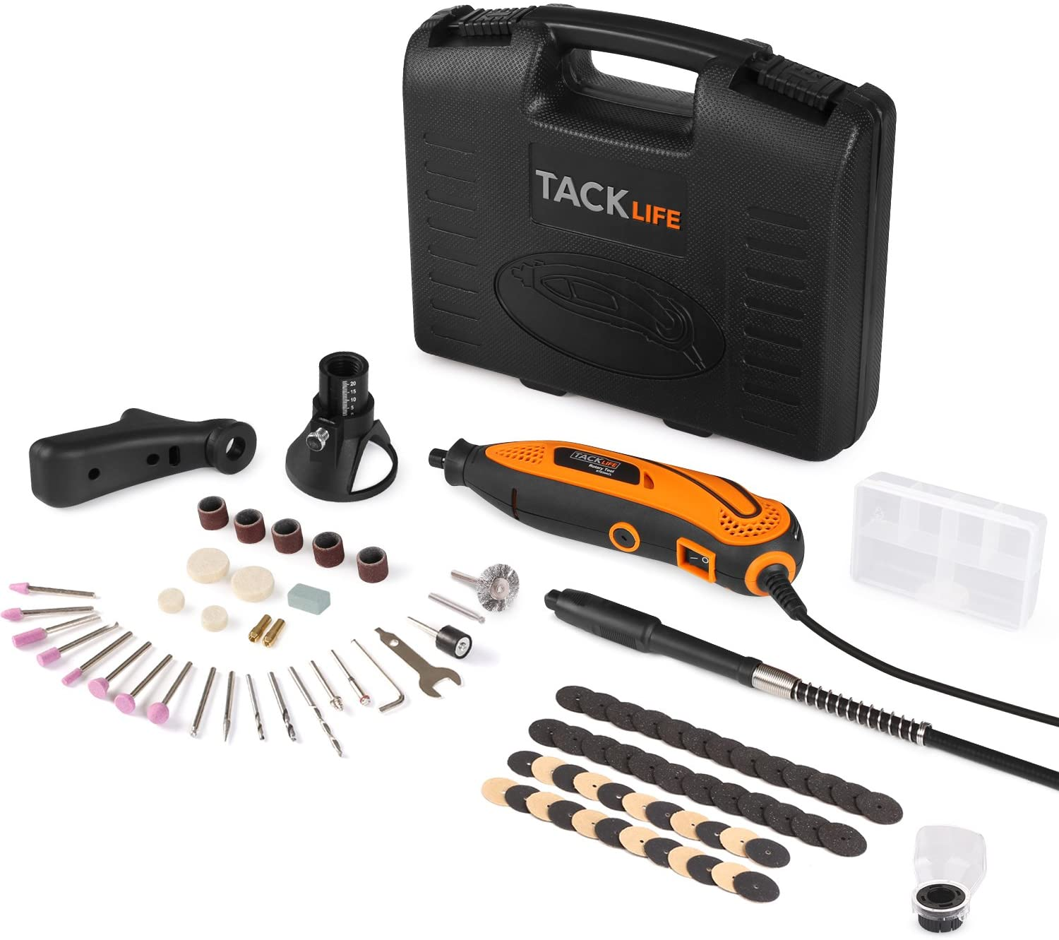 Tacklife RTD35ACL Advanced Multi-functional Rotary Tool Kit
