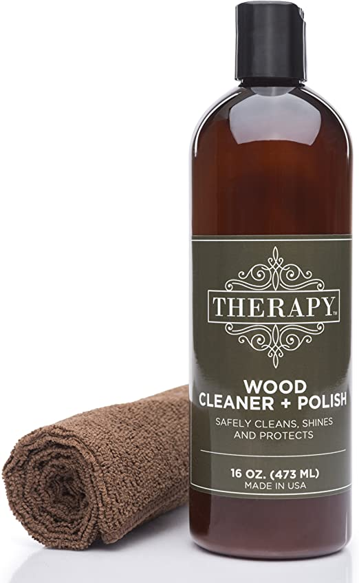 Therapy Wood Cleaner and Polish Kit