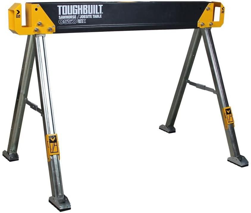 ToughBuilt TOU-C550 Metal Saw Horse