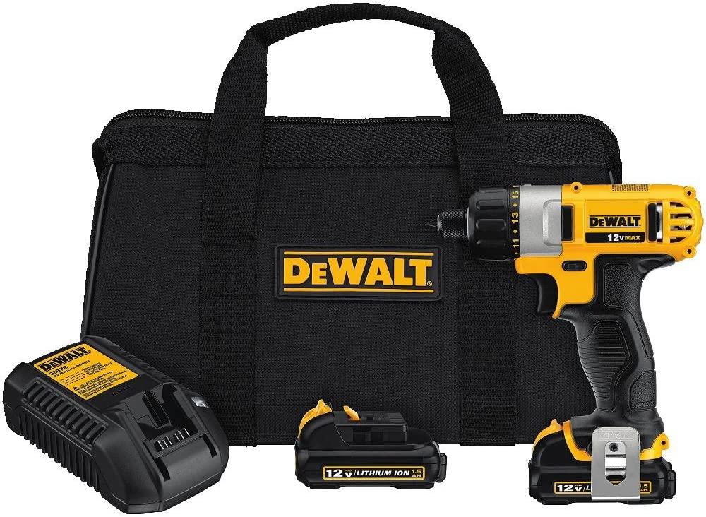 DEWALT 12V Electric Screwdriver Kit