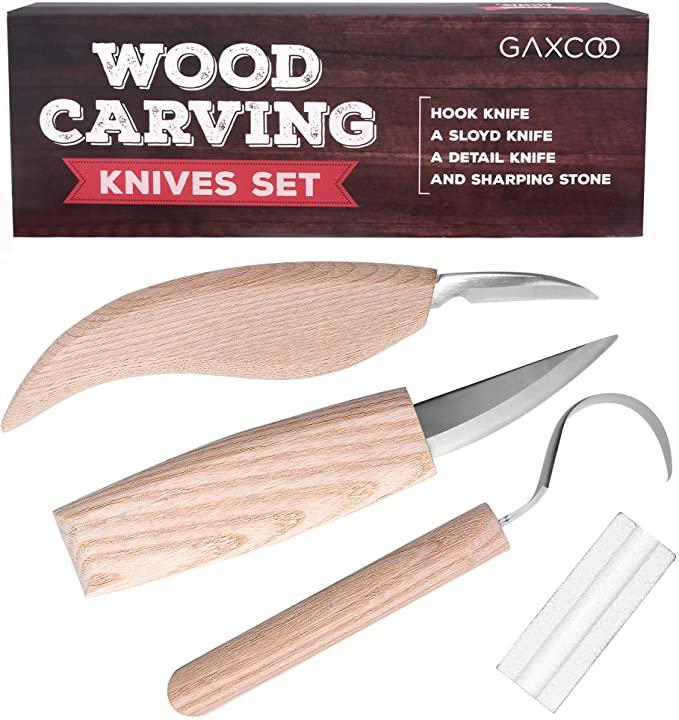 Gaxcoo Wood Carving Tools Kit