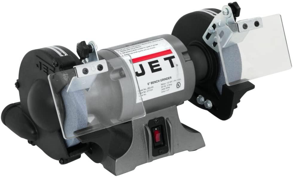 JET 577101 6-Inch Industrial Bench Grinder