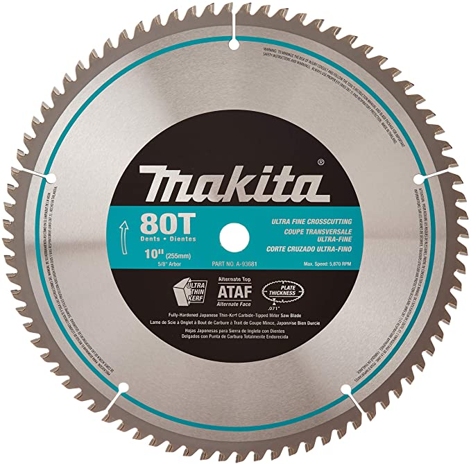 Makita 80-Teeth Miter saw Blade