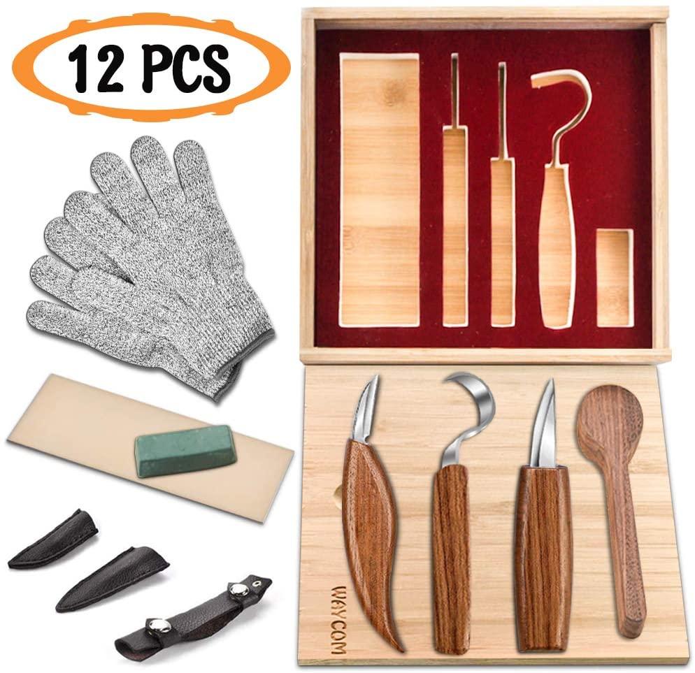 WAYCOM Carving Knife Set