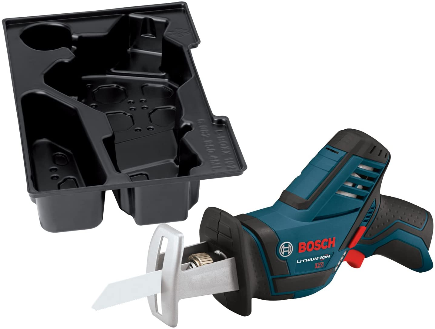 Bosch Bare-Tool PS60BN 12-Volt Max Lithium-Ion Pocket Reciprocating Saw
