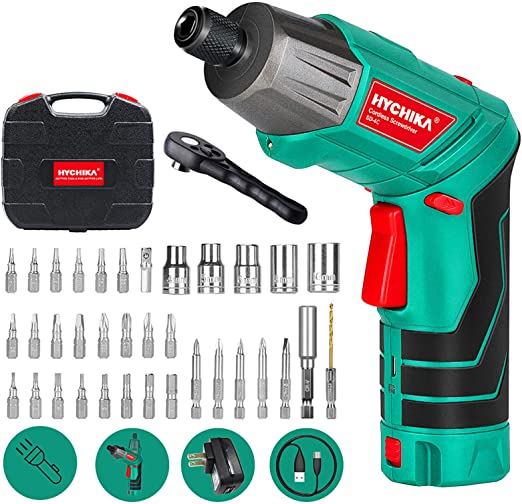 HYCHIKA Cordless Electric Screwdriver