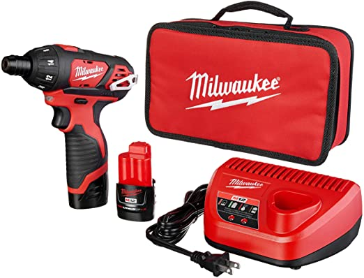 Milwaukee 2401-22 M12 12-Volt Hex Screwdriver Kit