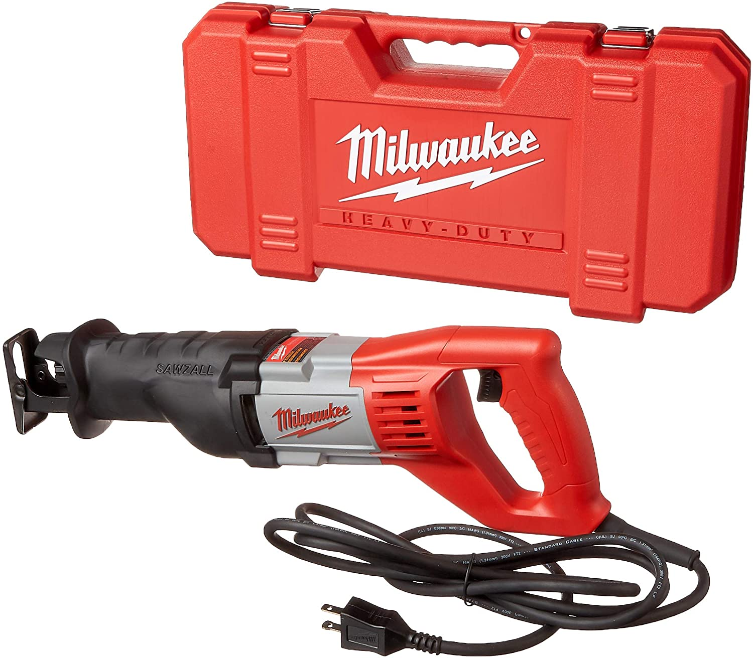 Milwaukee 6519-31 12 Amp Corded 3000 Strokes Per Minute Reciprocating Saw