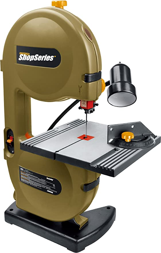 """ShopSeries RK7453 9"""" Band Saw with Light"""