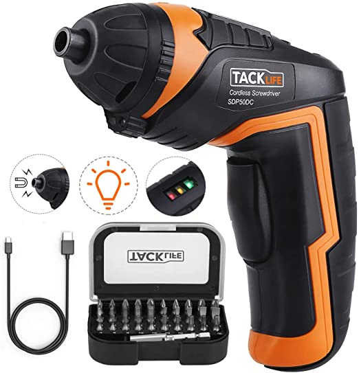 TACKLIFE Cordless Electric Screwdriver