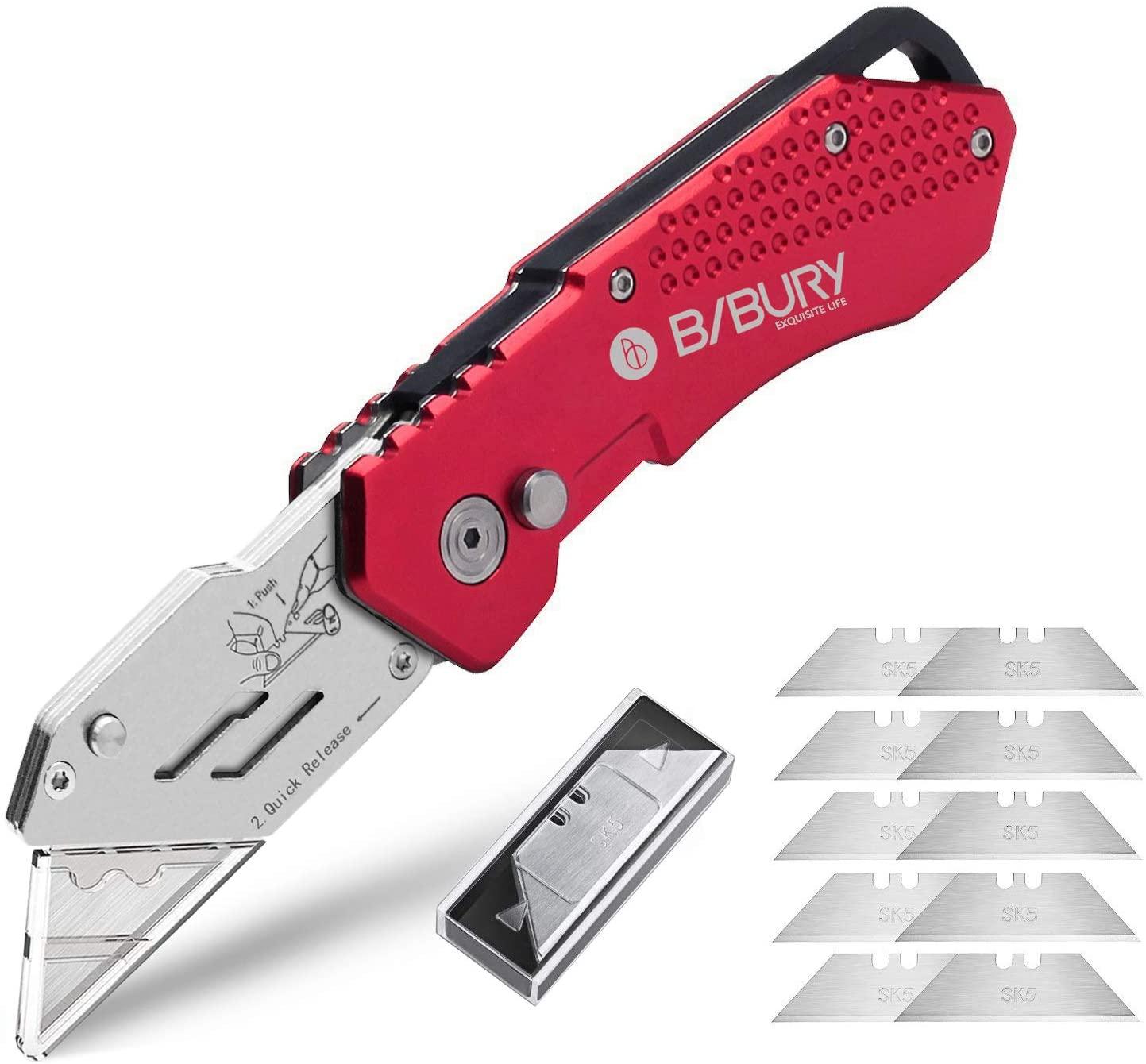 BIBURY Pocket Carpet Utility Knife