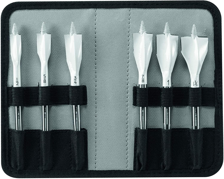 Bosch NS5006 6 pc. Nail Strike Wood-Boring Spade Bit Set