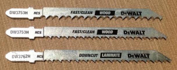 DEWALT DW3742C Jigsaw Blades Set