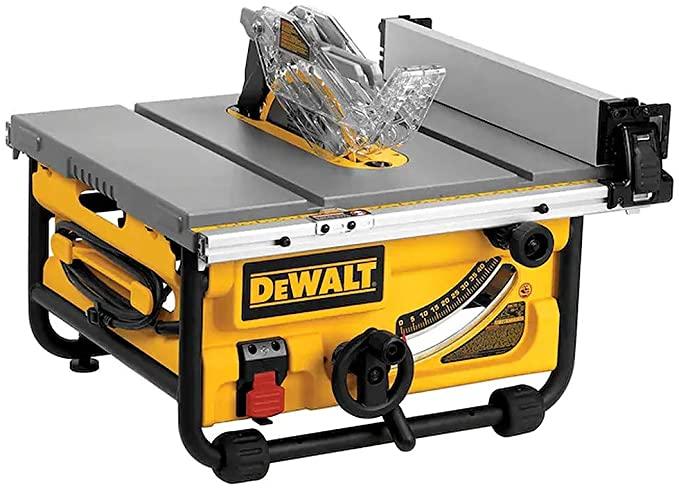 DEWALT DWE7480 10-Inch Compact Job-Site Table Saw
