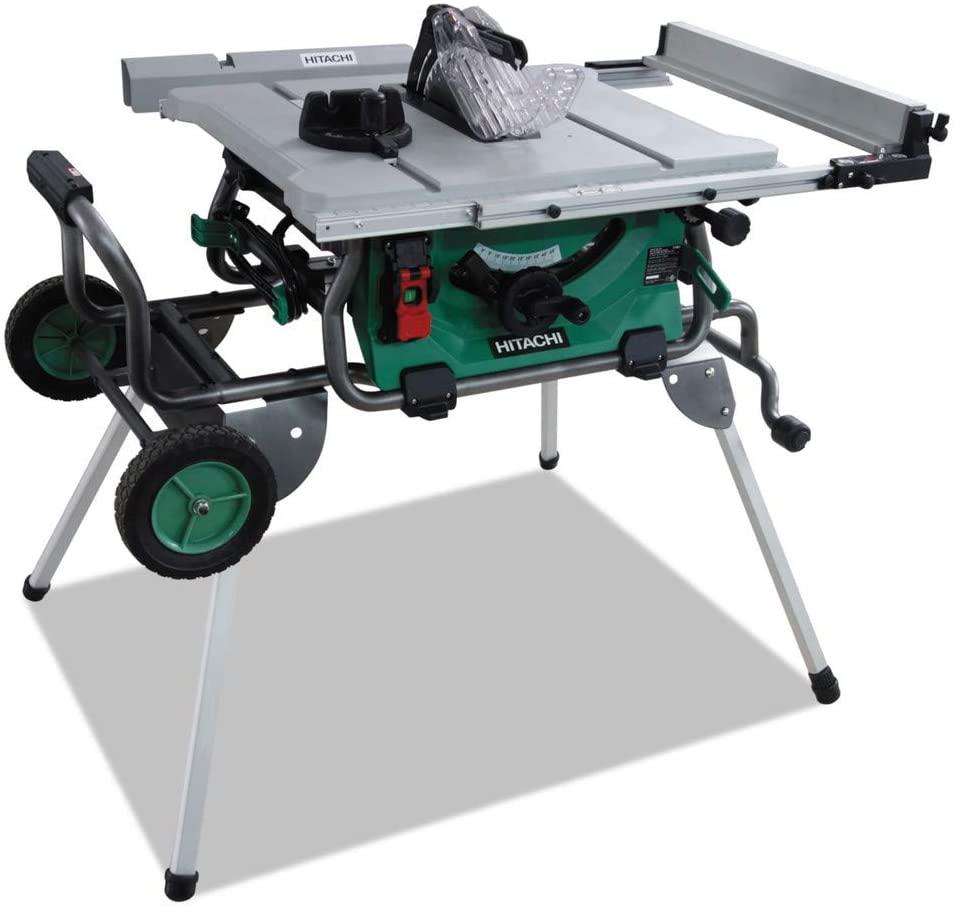 Hitachi C10RJ 10″ 15-Amp Jobsite Table Saw